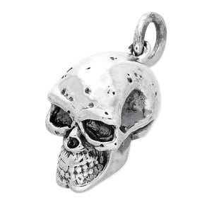 Sterling Silver Small Skull Pendant necklace