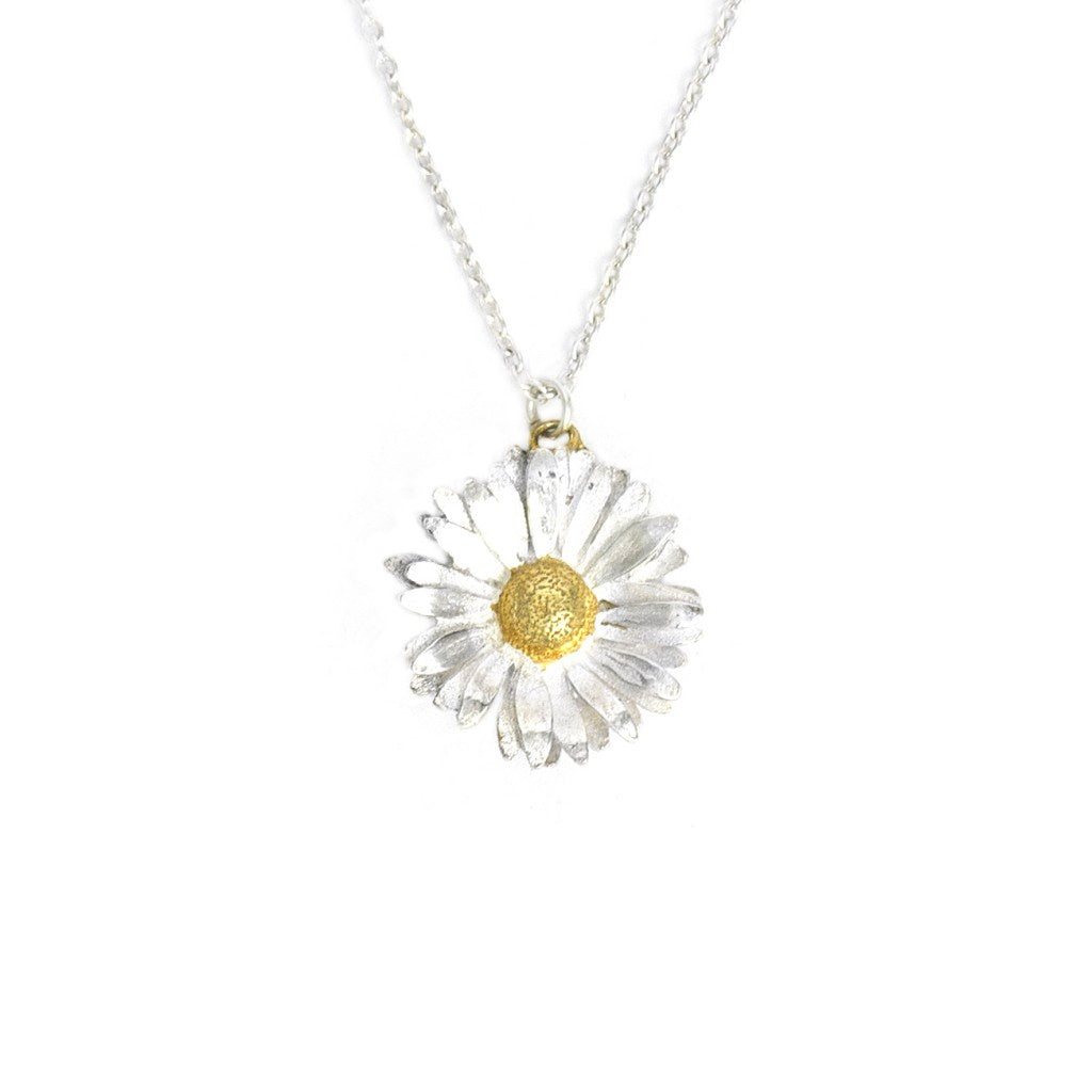 Alex Monroe Gold Daisy Necklace - DBN7/MIX