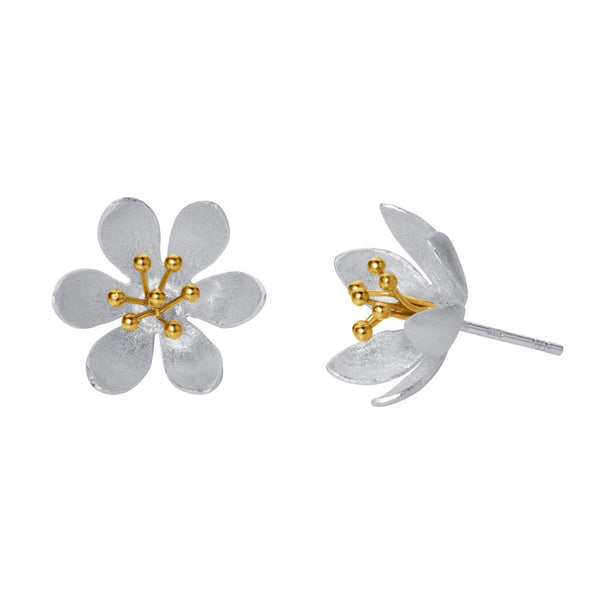 WaterLily Stud Earrings
