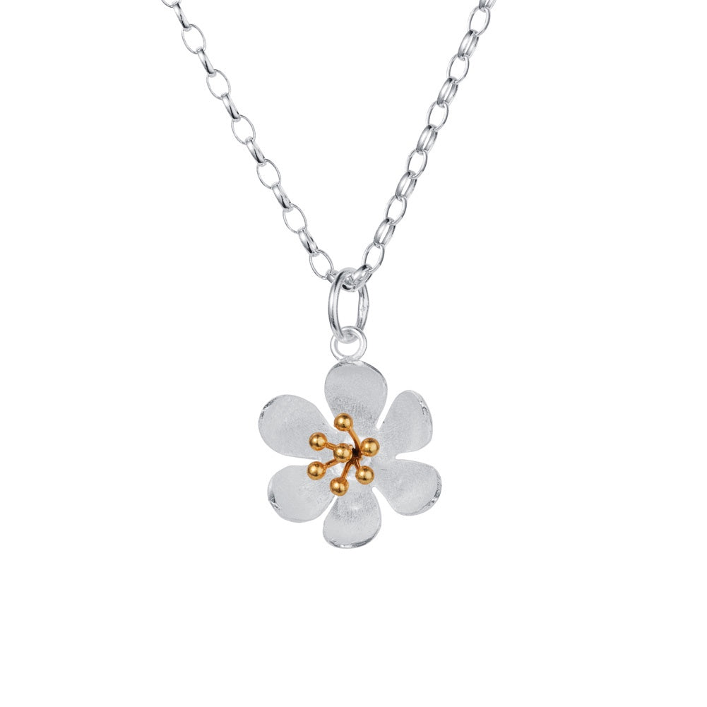 Water Lily Necklace