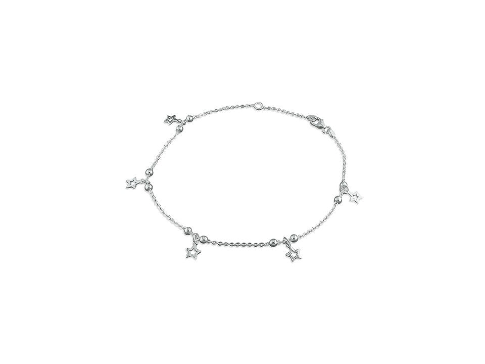 Sterling Silver Linear Stars Anket
