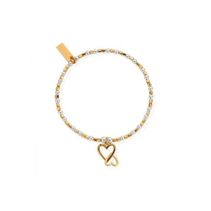 Mix Mini Cube Heart Bracelet