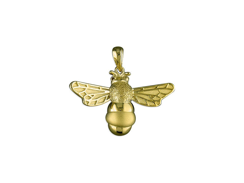 18ct Gold Plated Butterfly Bee Necklace