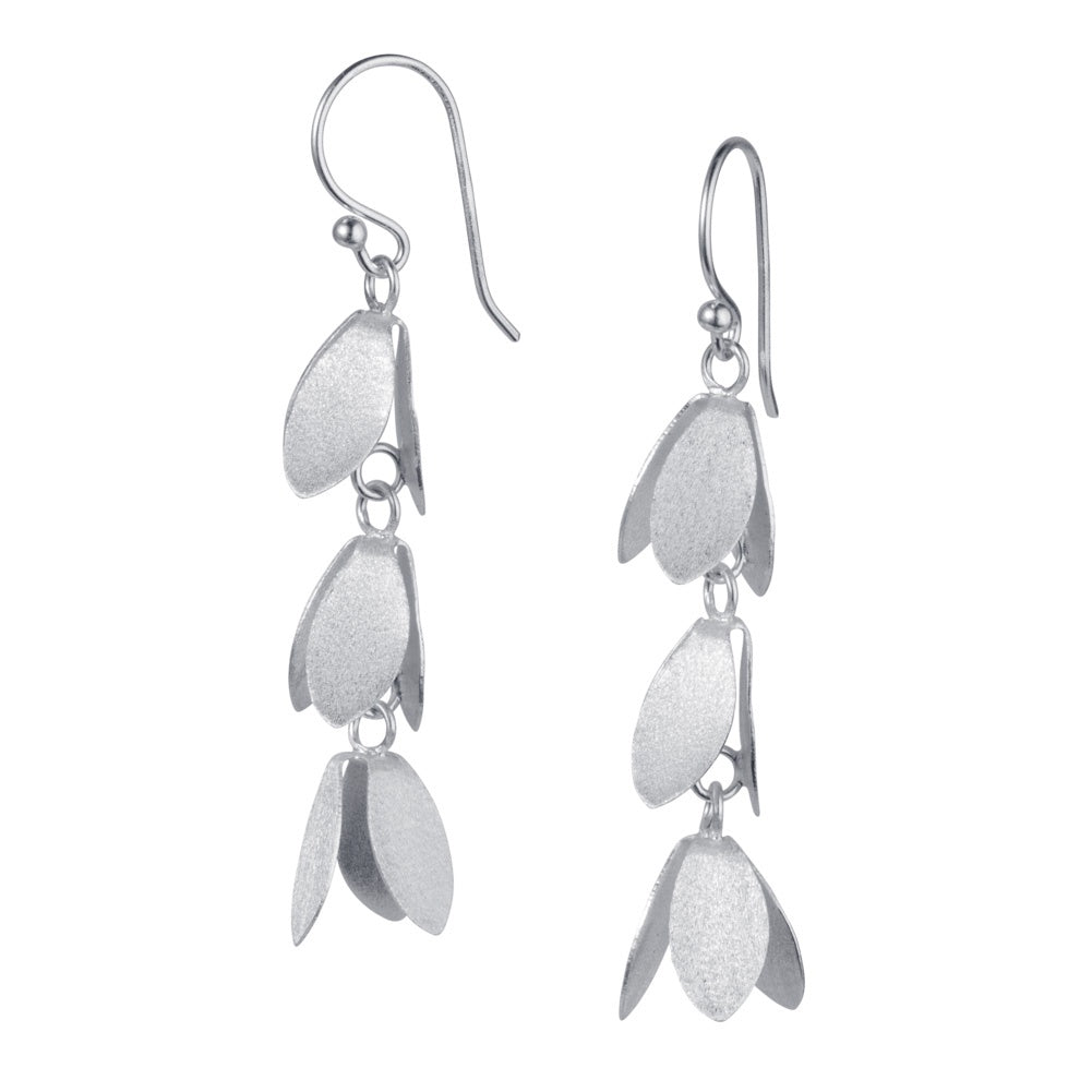 Silver Catkin Earrings