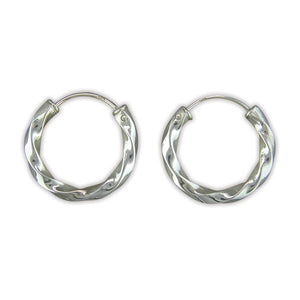 Sleeper Twisted Tube Hoops