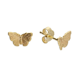 18ct Gold Plated Admiral Butterfly Studs