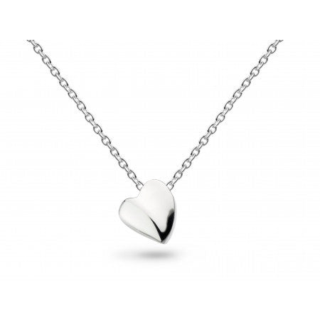 Sterling Silver Miniature Sweet Heart Necklace