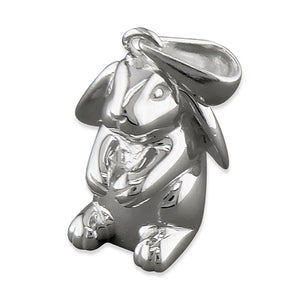 Sterling Silver Sitting Rabbit Necklace