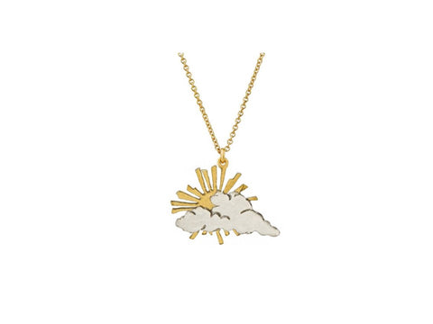 Alex Monroe Rays of Hope Necklace - GDN1-MIX
