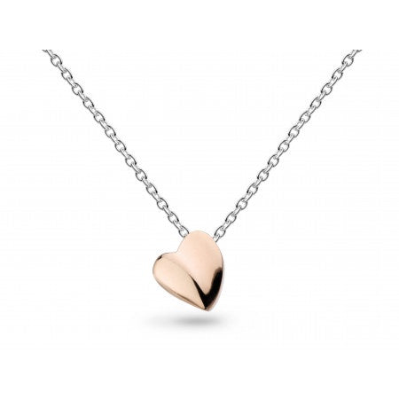 18ct Rose Gold Miniature Sweet Heart Necklace