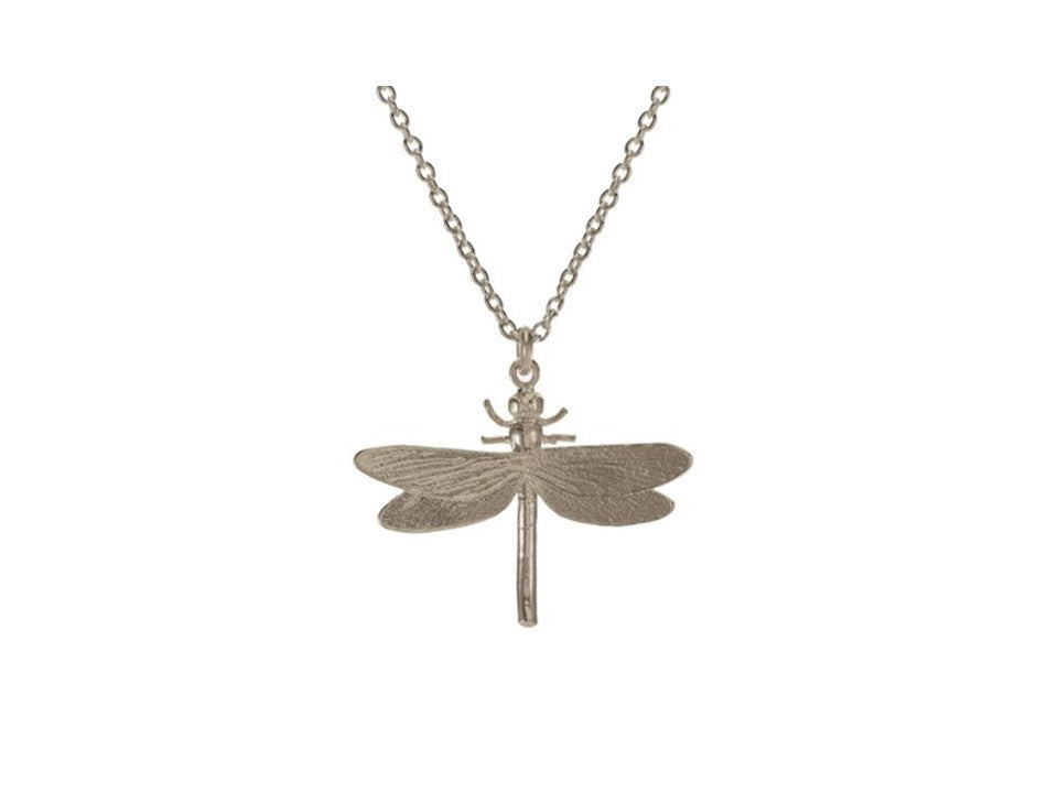 Alex Monroe Silver Dragonfly Necklace - MGN10/S