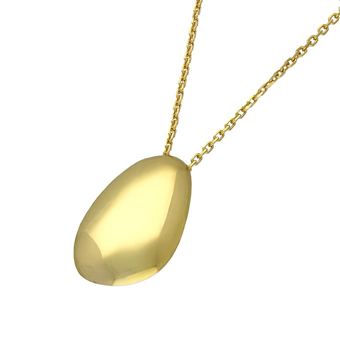 18ct Gold Plated Teardrop Necklace