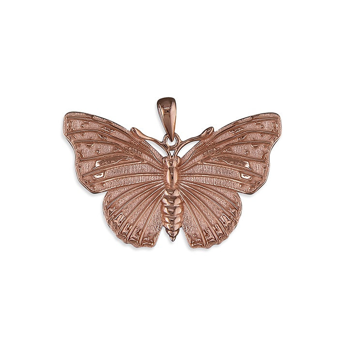18ct Rose Gold Plated Admiral butterfly