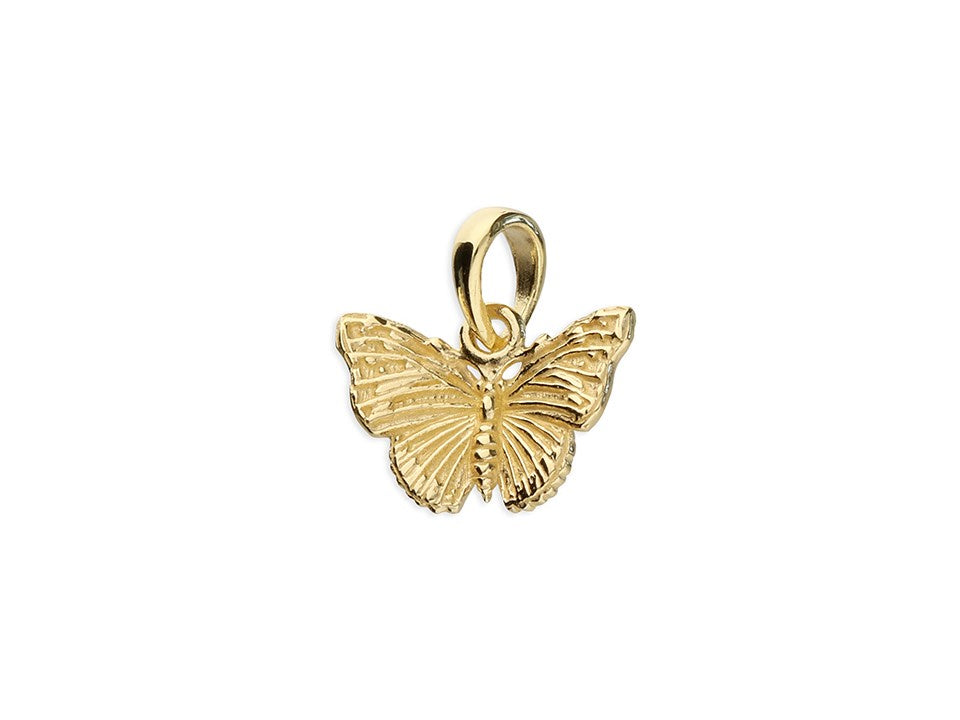 18ct Gold Plated  Mini Butterfly & Chain