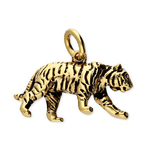 Golden Tiger Necklace, 18ct Gold Plated