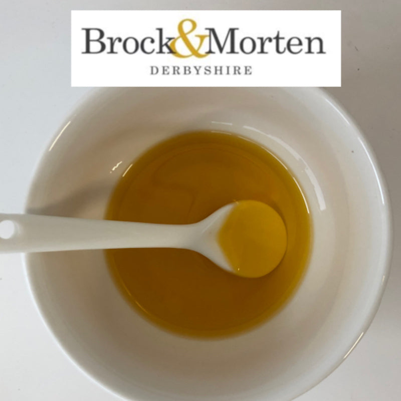 Speciality Oil  - Cold Pressed Rapeseed Oil infused with Basil  - Brock & Morten