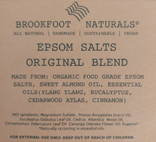 Load image into Gallery viewer, Epsom Salts Original Blend by Brookfoot Naturals - REFILL
