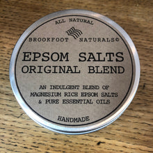 Load image into Gallery viewer, Epsom Salts Original Blend in Tin by Brookfoot Naturals
