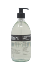 Load image into Gallery viewer, READY FILLED Hand Soap in Glass bottle 500ml by Miniml