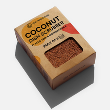 Load image into Gallery viewer, Coconut Scourers Rectagular by Zero Waste Club