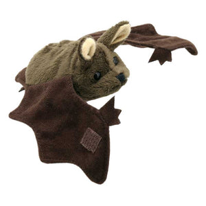 Brown Bat Finger Puppet