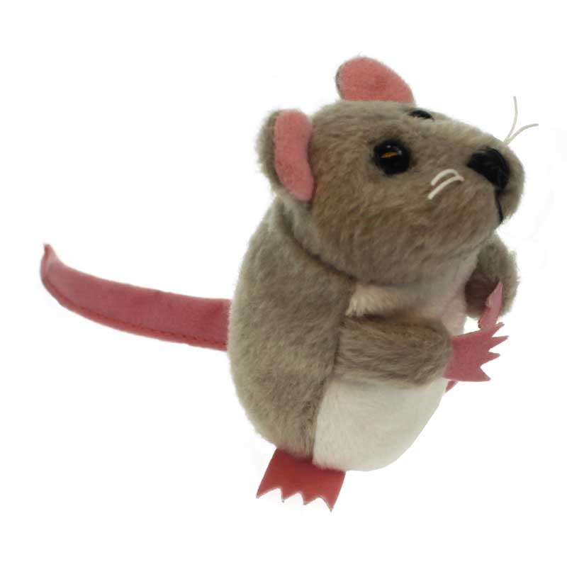Grey Mouse Finger Puppet