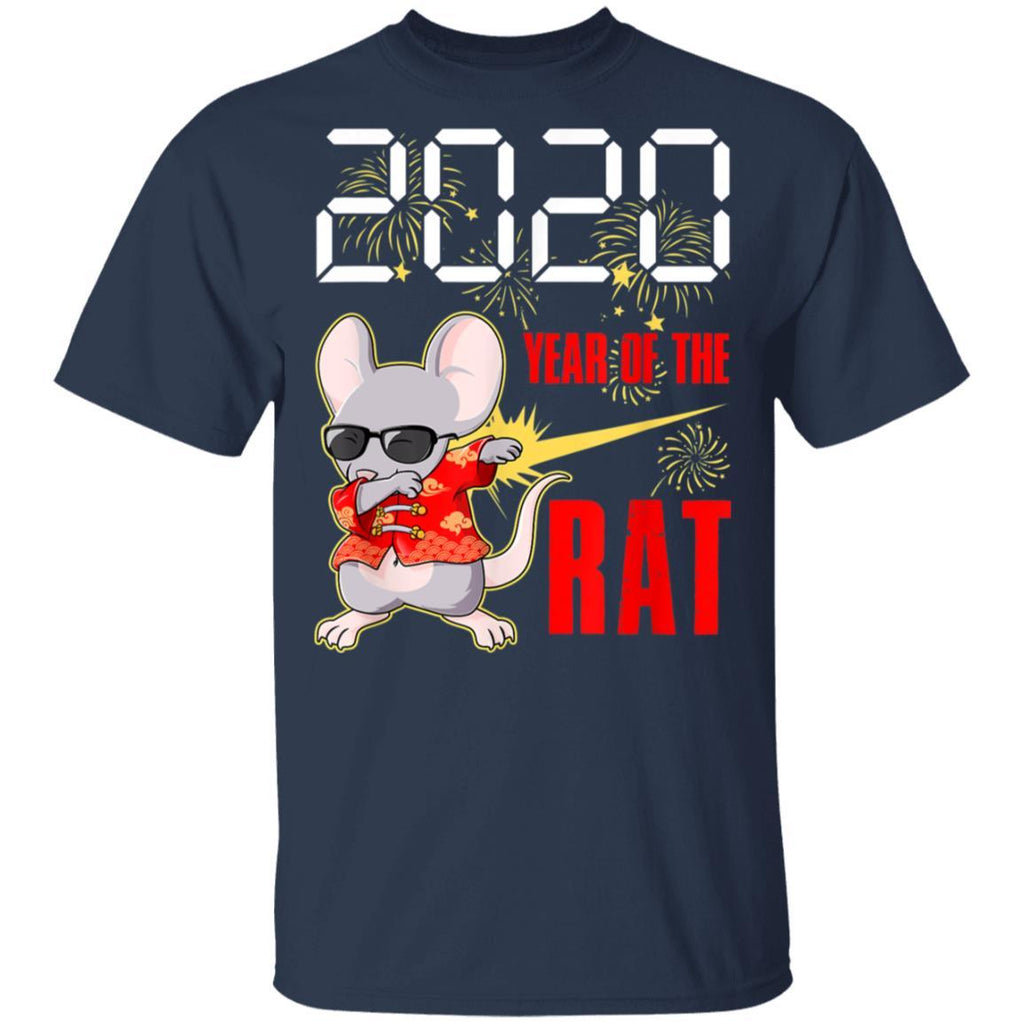 Dabbing Year Of The Rat Happy New Year 2020 T-Shirt