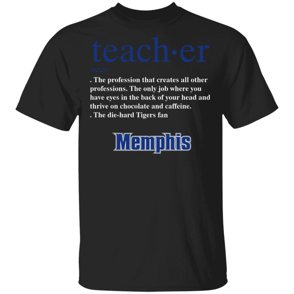 NCAA - Teacher Memphis Tigers Fan Funny T-Shirt