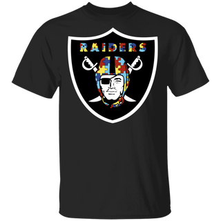 NFL - Oakland Raiders Support Autism Awareness T-shirt