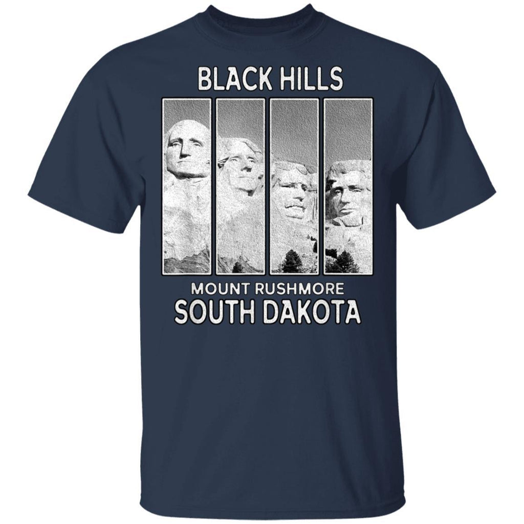 Mount Rushmore Black Hills South Dakota Badlands T-Shirt