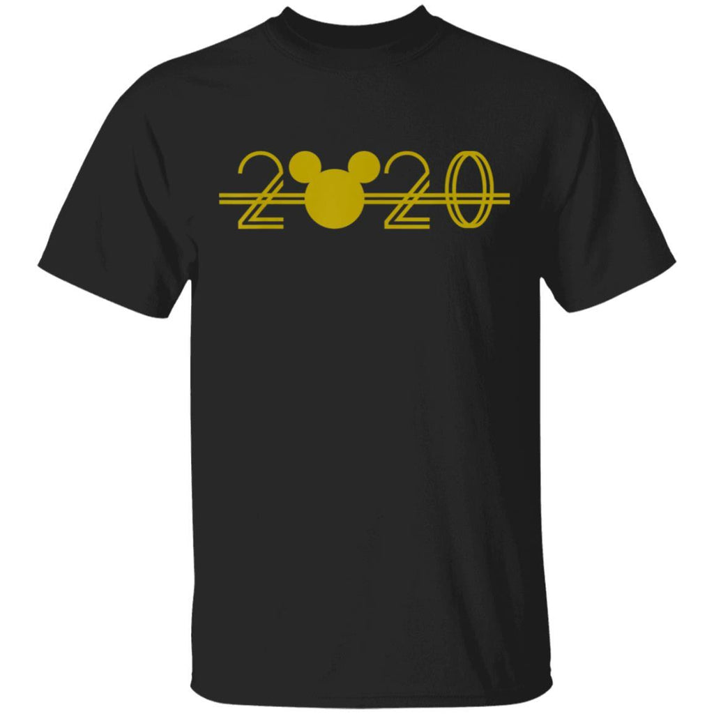 Disney New Year's 2020 Mickey Simple Logo T-Shirt