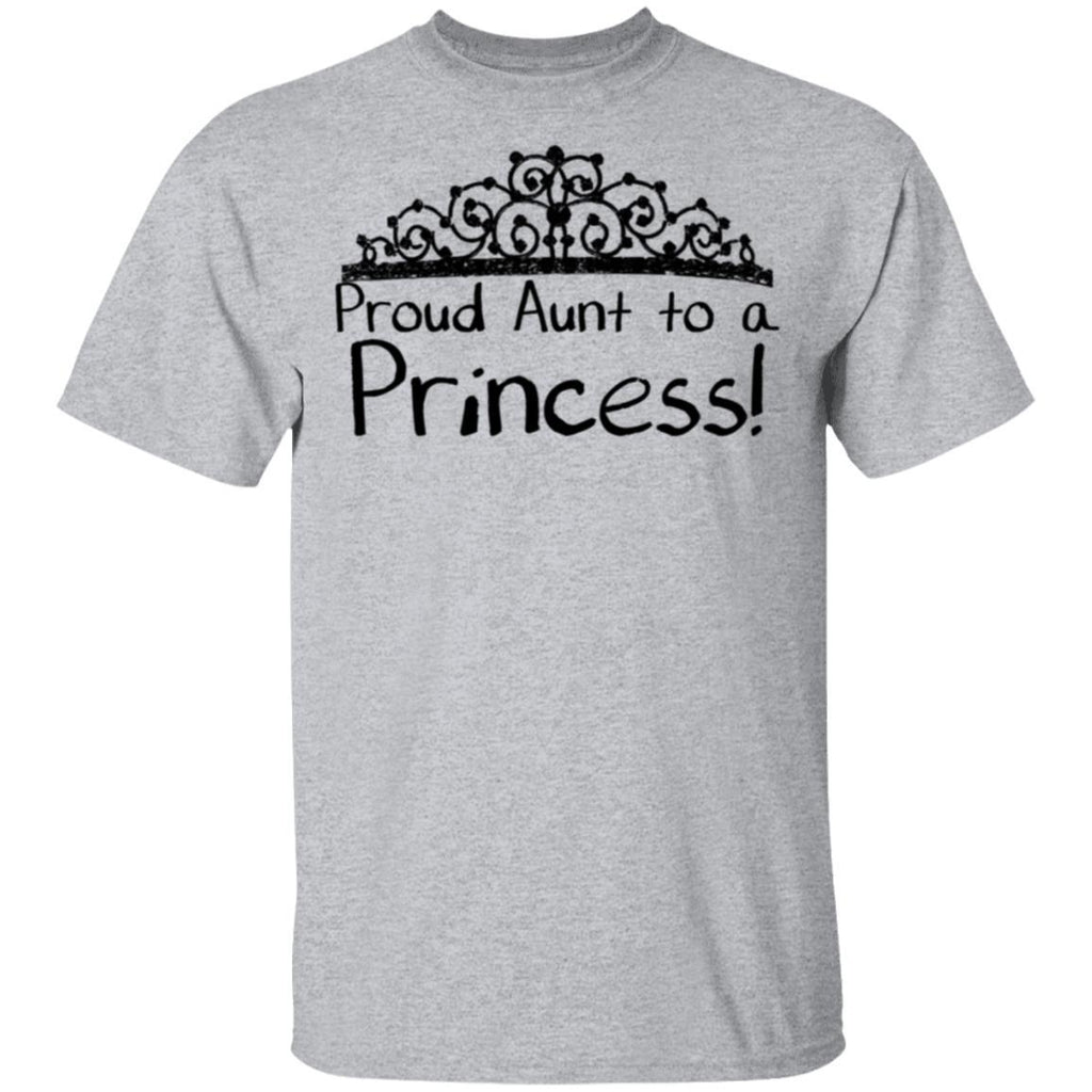 Proud Aunt to a Princess Tshirt