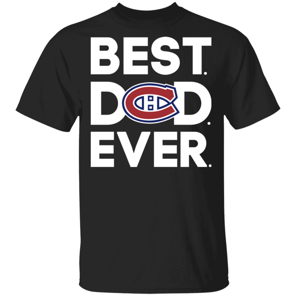 NHL - Montrí©al Canadiens - Best Dad Ever T-Shirt