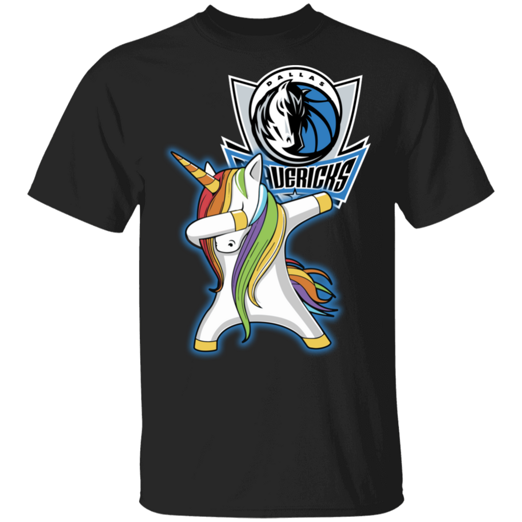 NBA Dallas Mavericks Basketball Dabbing Unicorn T-shirt
