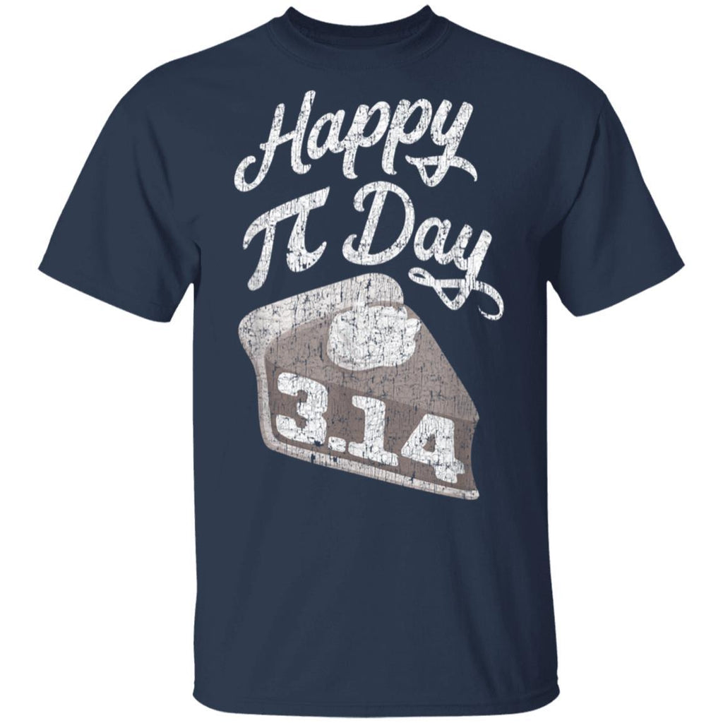 Happy Pi Day Math Slice of Pie Pun 3.14 T-Shirt