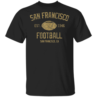 Vintage San Francisco Football Retro Founded Classic 1946 TShirt