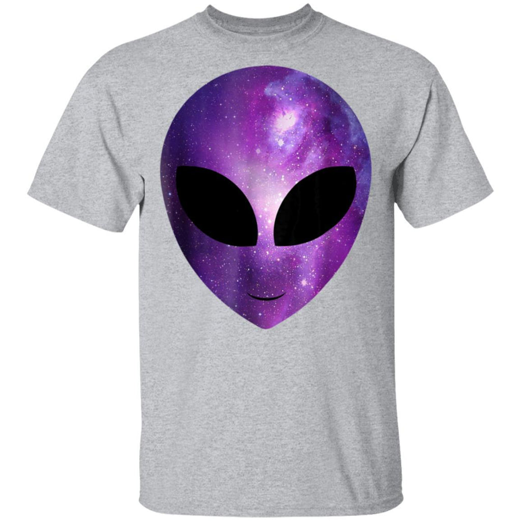 Alien Galaxy Cosmic Head Shirt