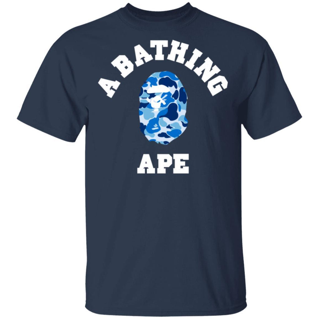Bape ABC Blue Camo T-Shirt