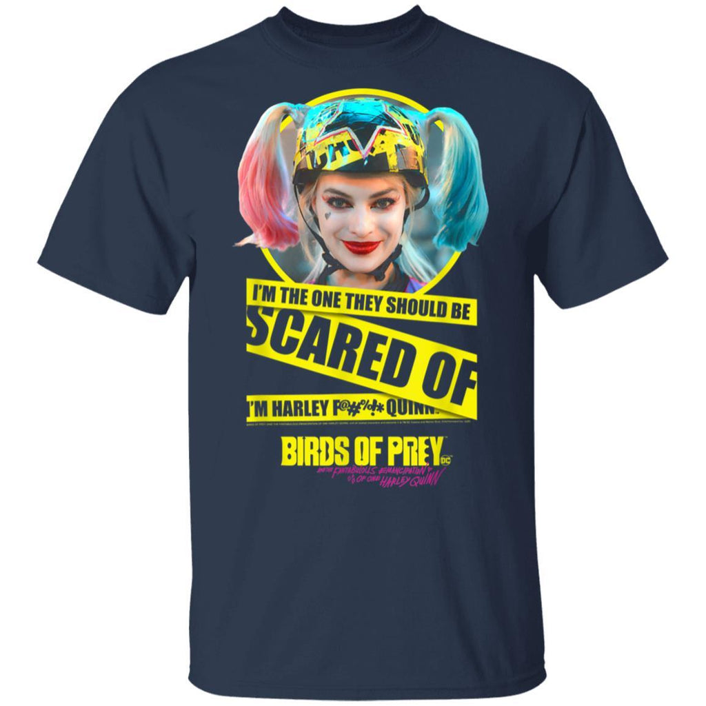 Birds of Prey Harley Quinn Scared Of T-Shirt