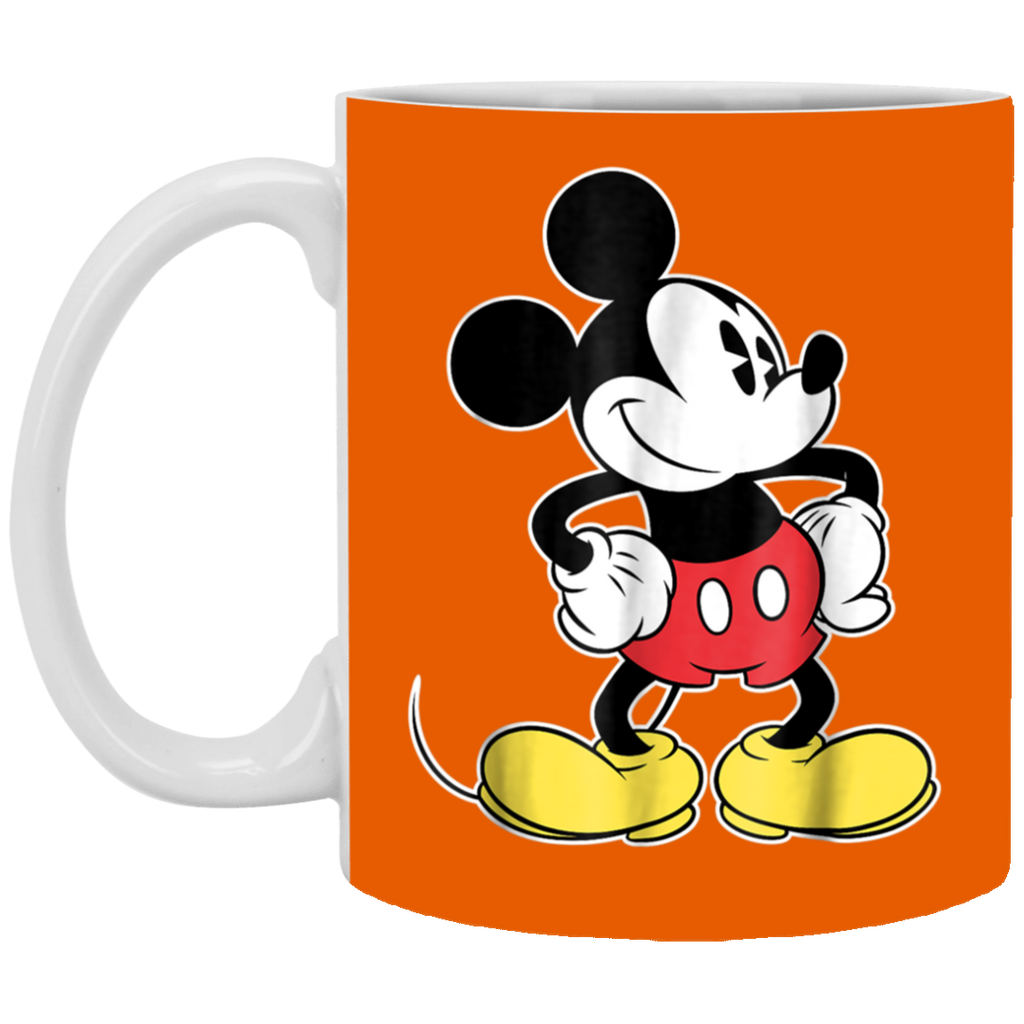 Disney Classic Mickey Mouse White Mug