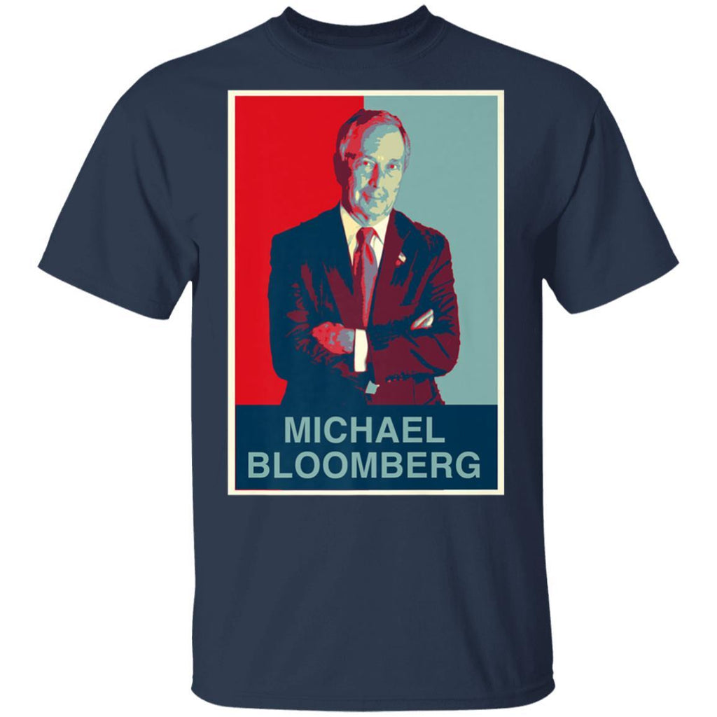 Michael Bloomberg for President - Obama Style T-Shirt