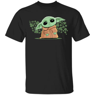 Star Wars The Mandalorian The Child Green St. Patrick's Day T-Shirt TFM
