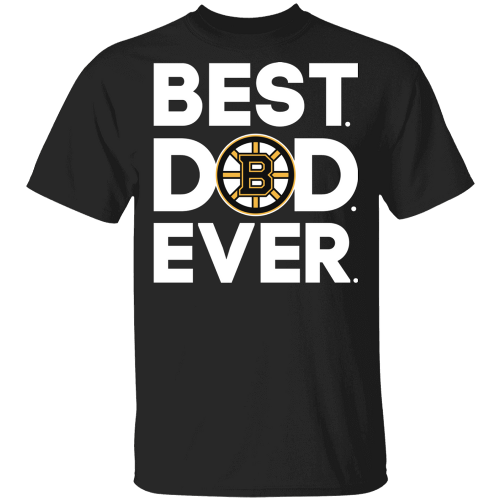 NHL - Boston Bruins - Best Dad Ever T-Shirt