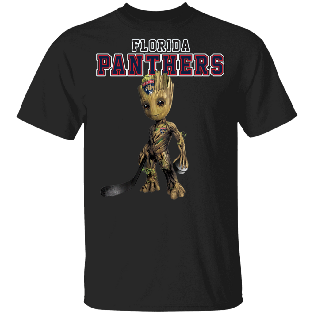 NHL - Florida Panthers Hockey Guardians of the Galaxy Groot T-Shirt