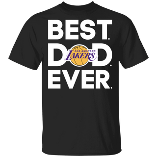 NBA - Los Angeles Lakers - Best Dad Ever T-Shirt TFD00004