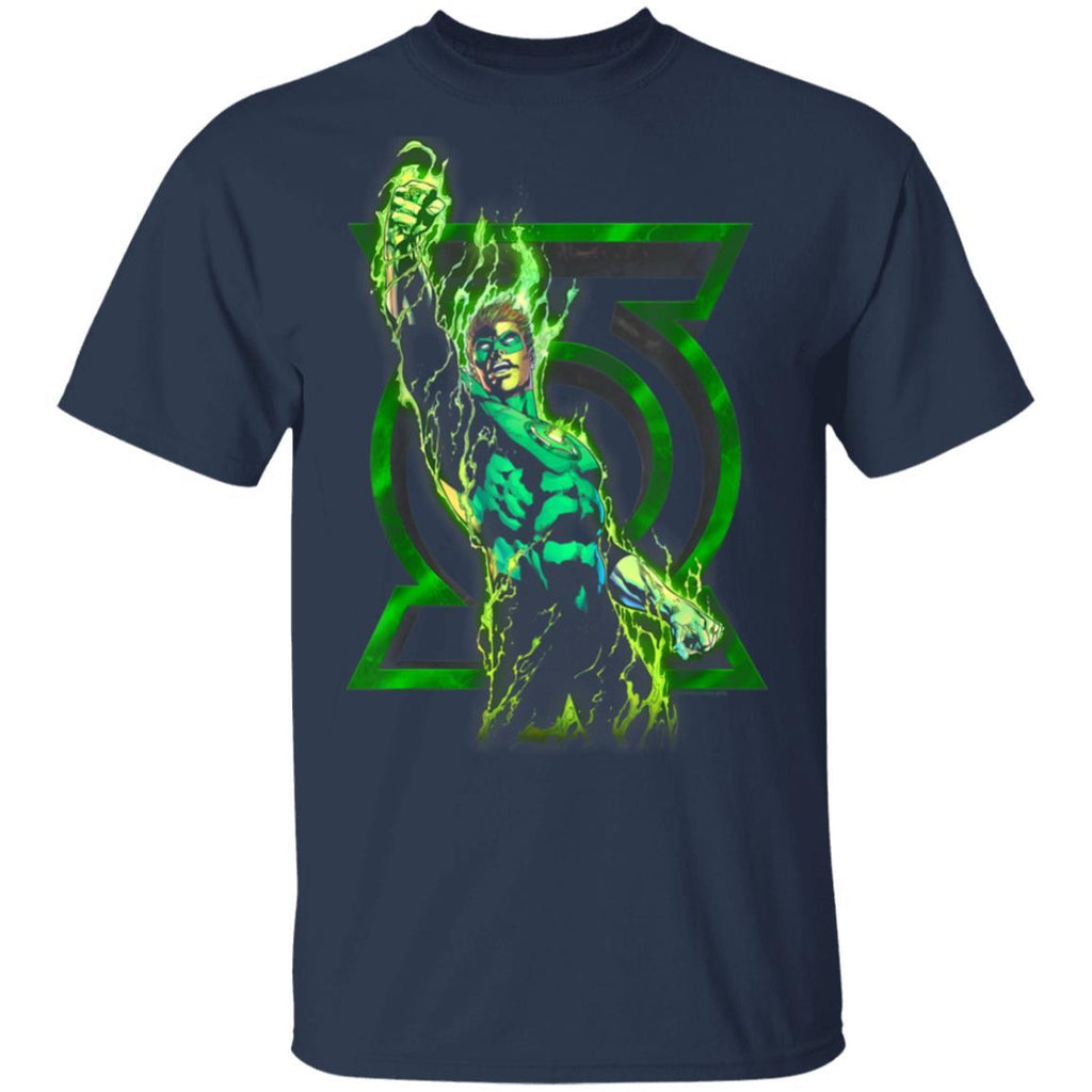 Green Lantern Fully Charged Lantern T-Shirt