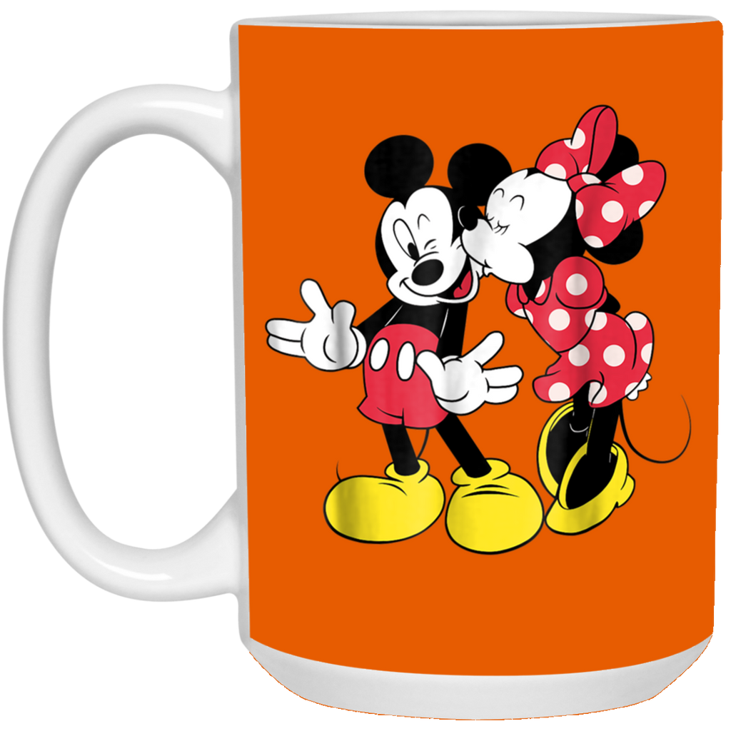Disney Mickey and Minnie Classic Love White Mug