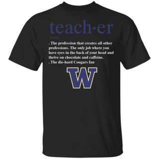 NCAA - Teacher Washington State Cougars Fan Funny T-Shirt