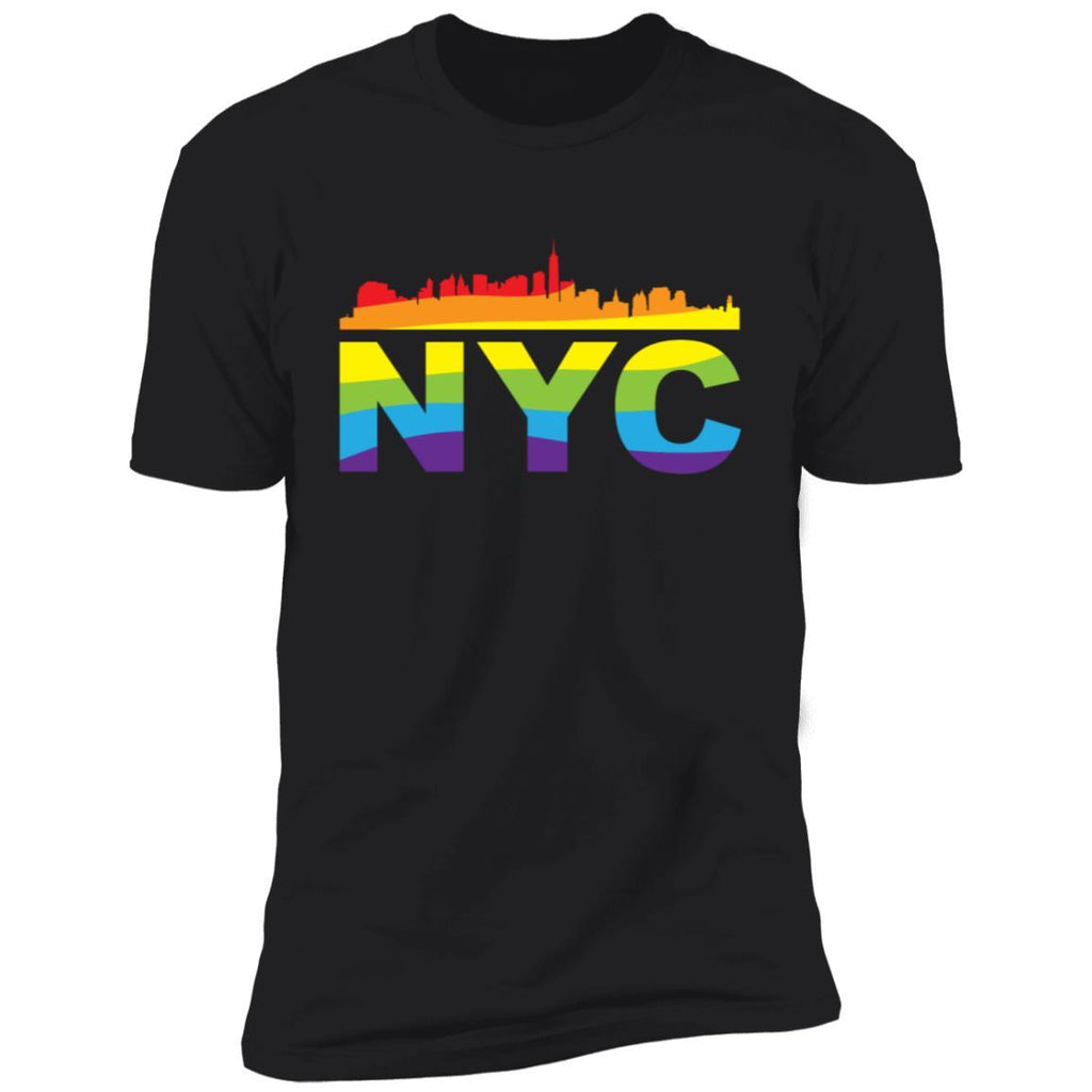 NYC Pride Skyline LGBT T-Shirt