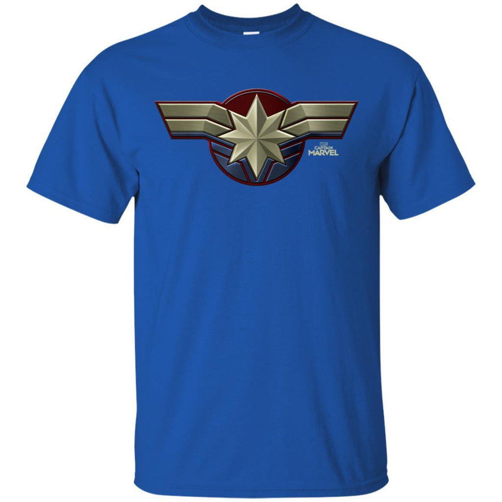 Marvel Captain Marvel Movie Chest Symbol Premium T-Shirt